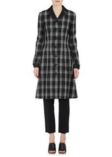 Proenza Schouler Women's Checked Cady A-Line Coatdress