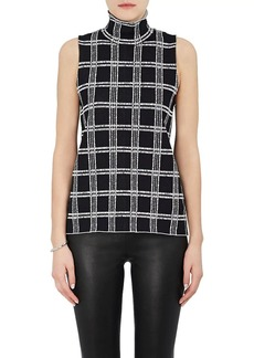 Proenza Schouler Women's Checked Compact Knit Shell
