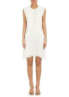 Proenza Schouler Women's Combo Peplum Dress