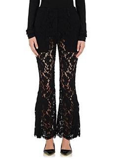 Proenza Schouler Women's Corded Lace Flared Pants