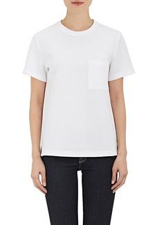 Proenza Schouler Women's Cotton-Blend Neoprene Jersey T-Shirt