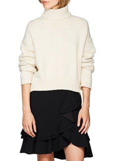 Proenza Schouler Women's Cotton-Blend Turtleneck Sweater