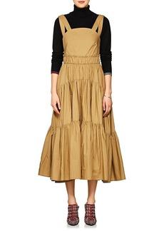 Proenza Schouler Women's Cotton Poplin Tiered Dress