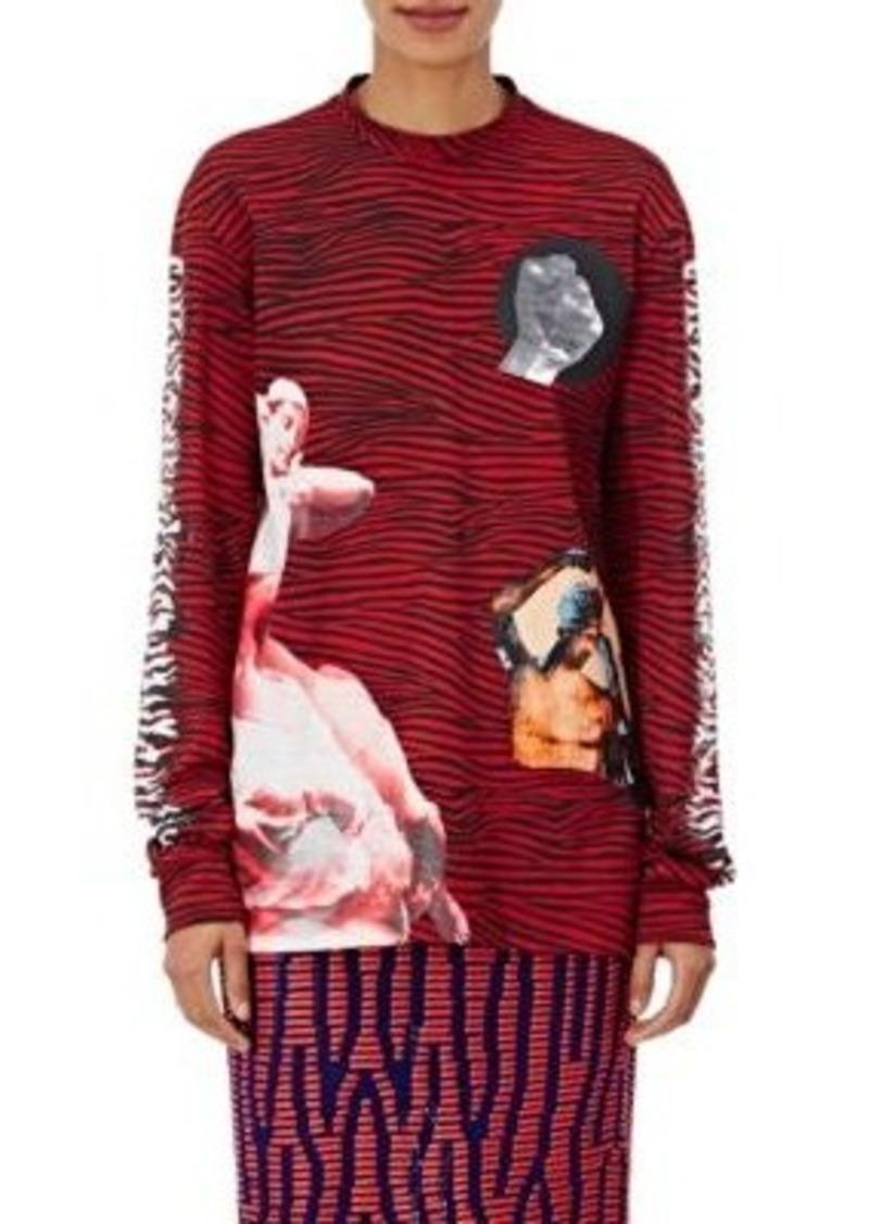 c34fdb5662 Proenza Schouler Proenza Schouler Women s Cotton Striped   Graphic ...