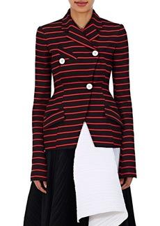 Proenza Schouler Women's Cotton-Wool Striped Jacquard Jacket