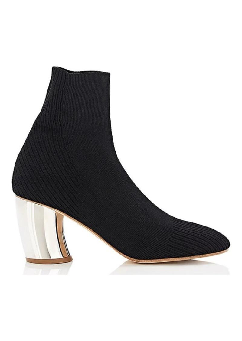 Proenza Schouler Proenza Schouler Women s Curved-Heel Knit Ankle ... 1a151e1e78