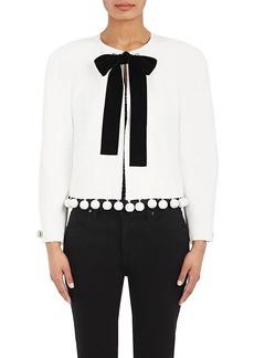 Proenza Schouler Women's Embellished Jacquard Crop Jacket