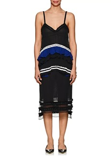 Proenza Schouler Women's Embellished Silk Chiffon Cami Dress