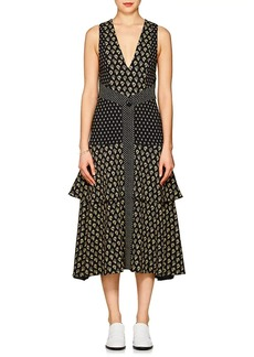 Proenza Schouler Women's Floral Cady Midi-Dress