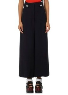 Proenza Schouler Women's Fluid Cady Wide-Leg Pants