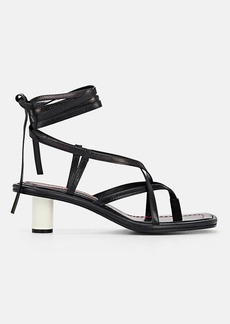 Proenza Schouler Women's Leather Ankle-Tie Sandals