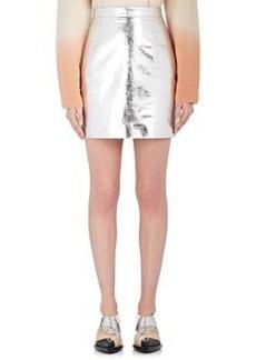 Proenza Schouler Women's Leather Miniskirt