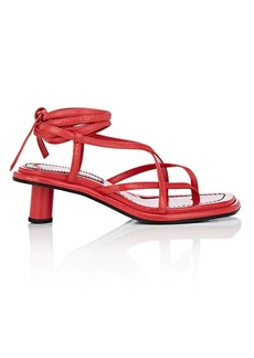 Proenza Schouler Women's Leather Multi-Strap Sandals
