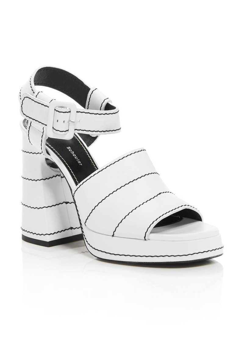 Proenza Schouler Women's Leather Platform Sandals