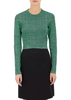 Proenza Schouler Women's Mélange Crop Sweater
