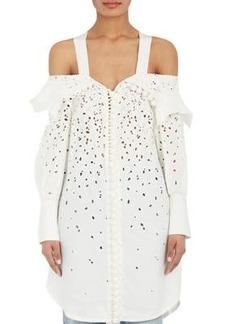 Proenza Schouler Women's Off-The-Shoulder Eyelet Dress