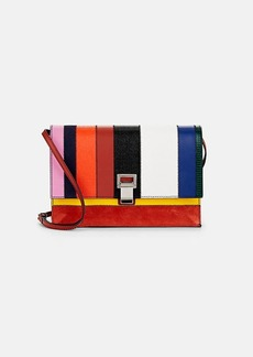 Proenza Schouler Women's Patchwork Small Leather & Suede Lunch Bag
