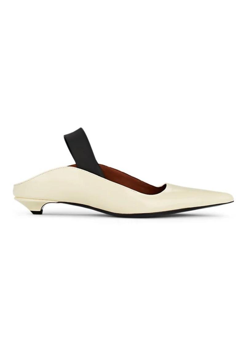 Proenza Schouler Women's Patent Leather Slingback Mules