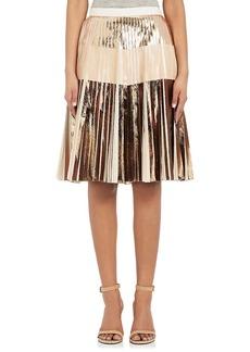 Proenza Schouler Women's Pleated Cloqué Knee-Length Skirt