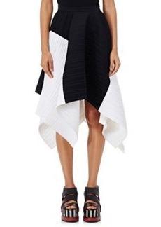 Proenza Schouler Women's Pleated Crepe Asymmetric Skirt