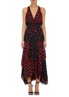 Proenza Schouler Women's Polka Dot-Print Georgette Gown