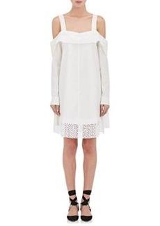 Proenza Schouler Women's Poplin Off-The-Shoulder Dress