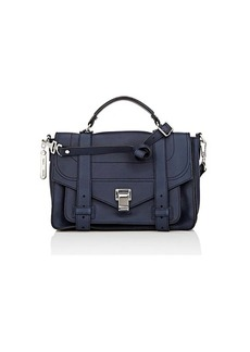 Proenza Schouler Women's PS1+ Medium Leather Shoulder Bag - Indigo