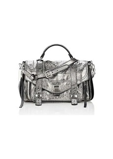 Proenza Schouler Women's PS1+ Medium Shoulder Bag - Dark Gray