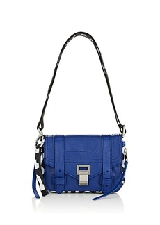 Proenza Schouler Women's PS1+ Mini Leather Crossbody Bag - Blue