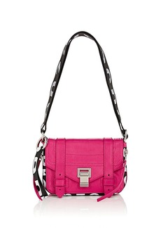 Proenza Schouler Women's PS1+ Mini Leather Crossbody Bag - Pink