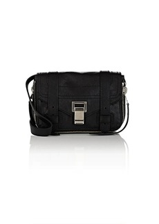 Proenza Schouler Women's PS1+ Mini Leather Crossbody Bag - Black