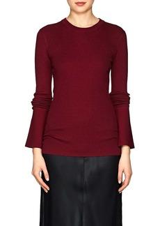 Proenza Schouler Women's Rib-Knit Silk-Blend Sweater