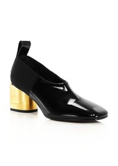Proenza Schouler Women's Square-Toe Block-Heel Pumps