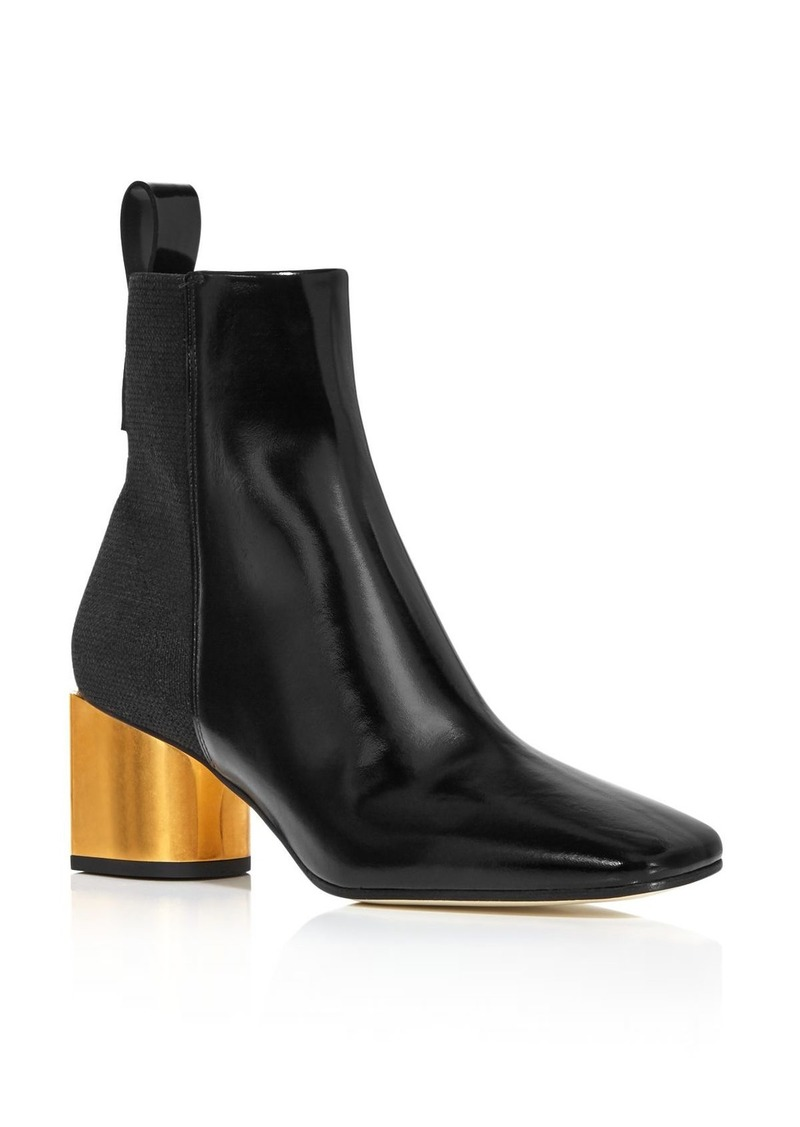 Proenza Schouler Women's Square Toe Leather Booties