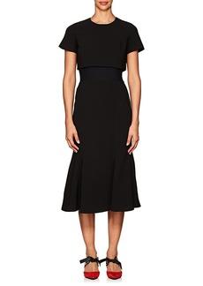Proenza Schouler Women's Stretch-Cady Layered Dress