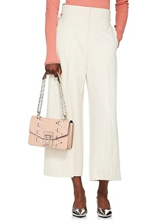Proenza Schouler Women's Stretch-Twill Buckle-Tab Culottes