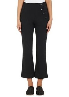 Proenza Schouler Women's Stretch-Wool Flare Pants
