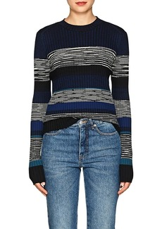 Proenza Schouler Women's Striped Wool-Blend Sweater