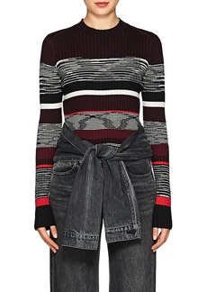 Proenza Schouler Women's Striped Wool-Blend Sweater