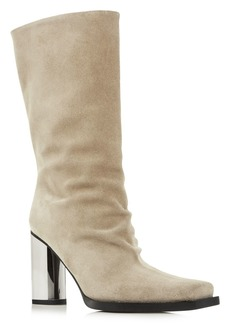 Proenza Schouler Women's Sucal Wrinkle Square-Toe Boots