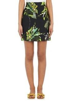 Proenza Schouler Women's Tropical-Floral-Print Miniskirt