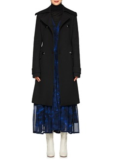 Proenza Schouler Women's Twill Belted Double-Breasted Coat