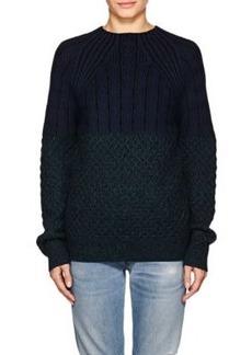 Proenza Schouler Women's Wool Mixed-Stitch Sweater