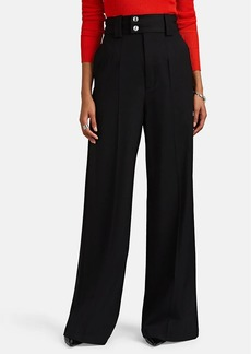 Proenza Schouler Women's Wool Wide-Leg Trousers