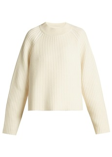 Proenza Schouler Wool-blend round-neck sweater