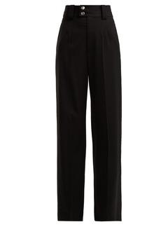 Proenza Schouler Wool-blend wide-leg trousers