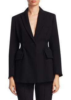 Proenza Schouler Back-Stripe Jacket