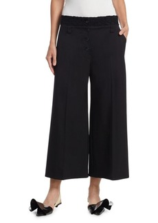 Proenza Schouler Stretch Wool Wide-Leg Pants