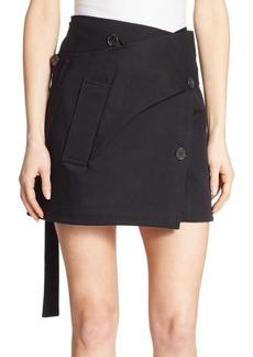 Proenza Schouler Wrap Mini Skirt
