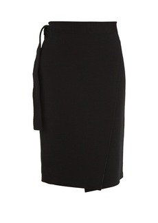 Proenza Schouler Wrap-style jersey pencil skirt